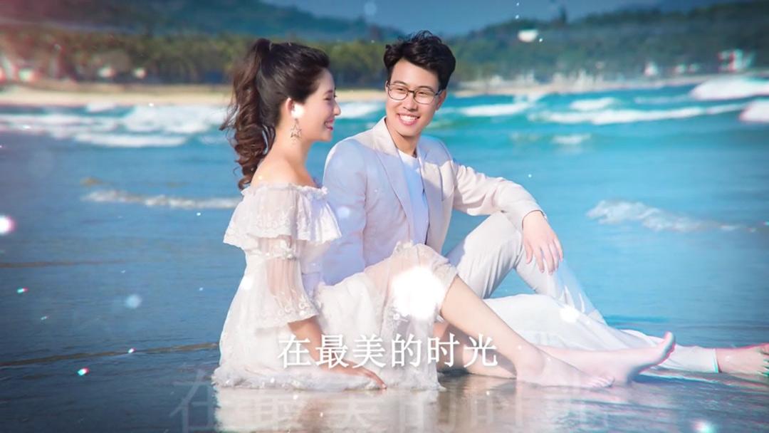 Love of Aurora极光浪漫婚礼视频模板